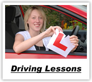 Click here for full details of driving lessons